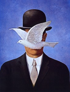 One day I am going to be a surrealist. A work by Magritte.